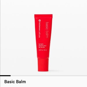NWT lululemon selfcare lip balm - basic balm